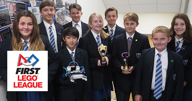 Hall Park Academy win their FIRST LEGO League regional heat
